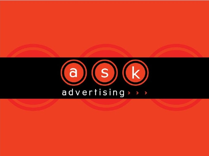 A S K Advertising Profile