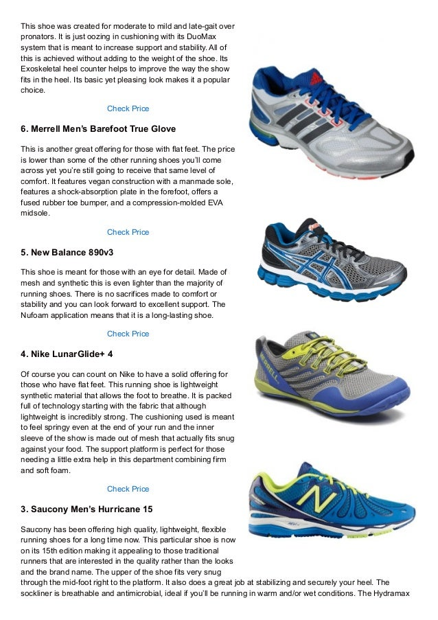 Trail Running Shoes For Flat Feet
