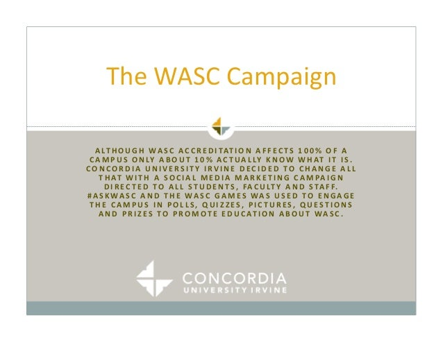 #AskWASC Campaign