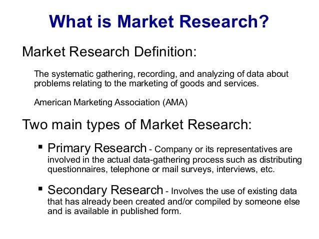 ASLAPR Market Research for Entrepreneurs Presentation 5/13/14