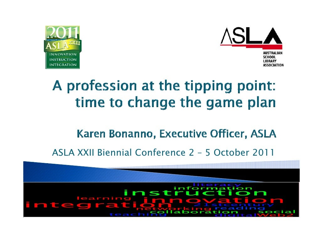 Profession at tipping point