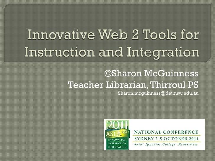 innovative web 2 tools