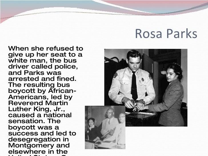 rosa parks history essay conclusion