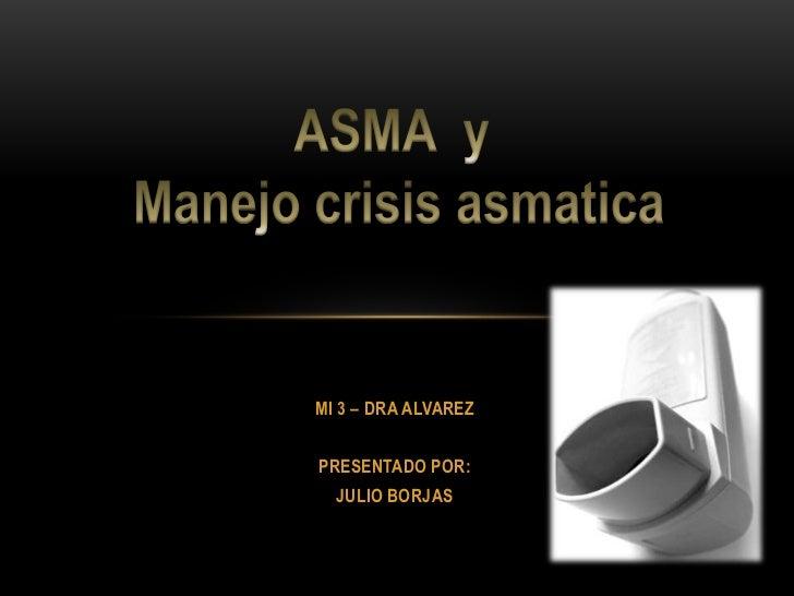 ASMA - JULIO BORJAS