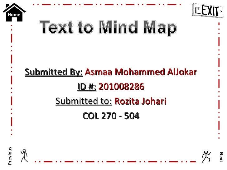 Asmaa al jokar   text 2 mind map - sec. 504