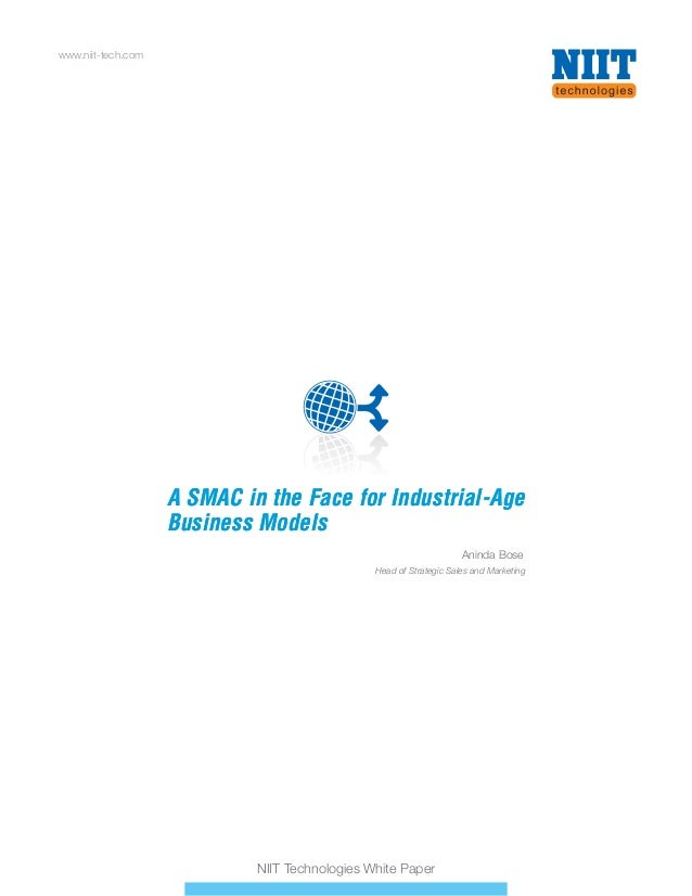 A SMAC in the face for industrial age Business Models - Whitepaper