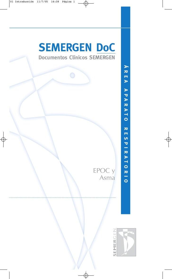 01 Introducción   11/7/05   16:38   Página 1                   SEMERGEN DoC                   Documentos Clínicos SEMERGEN...