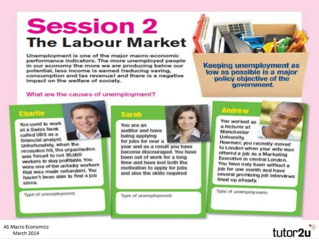 The Labour Market Unemployment is one of the major macro-economic performance indicators. Keeping unemployment as low as p...