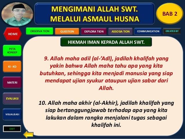 Allah Maha Adil in English Allah Maha Adil Al-'adl
