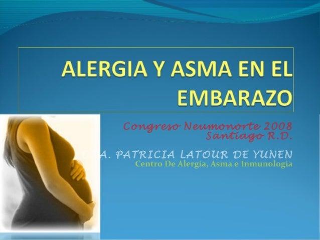 Asma Y Alergia En El Embarazo2