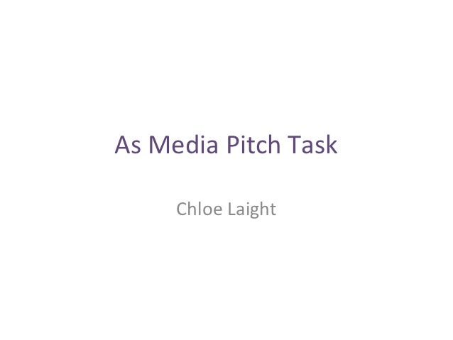 As media pitch task