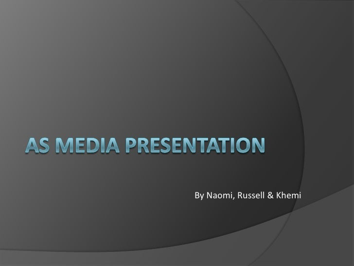 As Media Presentation[2]1