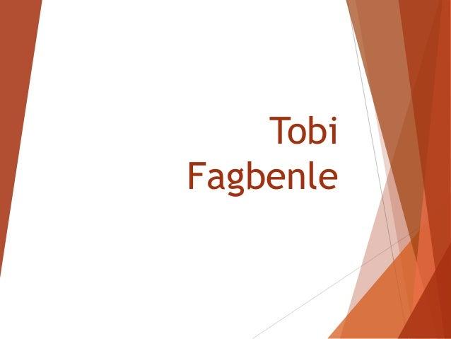 Tobi Fagbenle