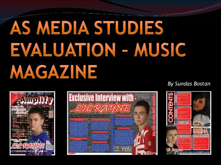 media magazine evaluation Another type of institution that may distribute my media product is a production institution which invest in a lot of products to do with hip hop/rap an example of a magazine production institution that does this is town square media.