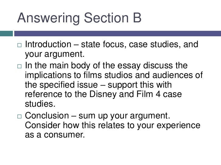 Answering case studies