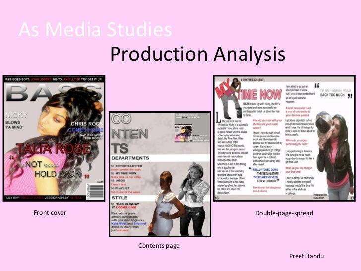 As media studies slide show