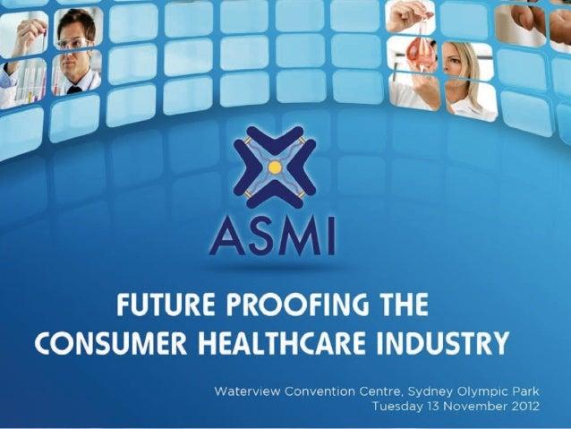 Australian Self-Medication Keynote Craig Rispin 13 Nov '12