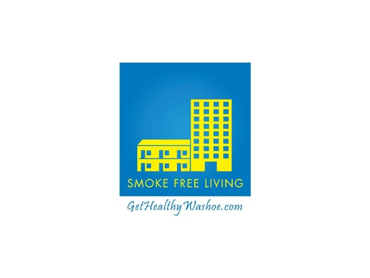 A smoke free apartment certification