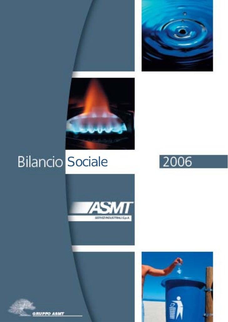 ASMT SPA - First CSR Report 2006
