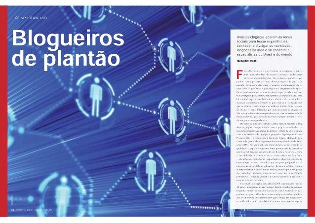 Blog Anestesia Segura - Revista da Saesp - Out/Nov/Dez 2010