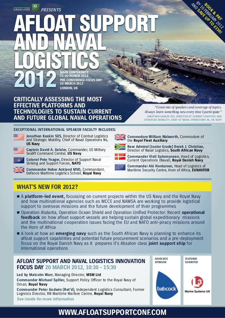 Afloat Support and Naval Logistics 2012