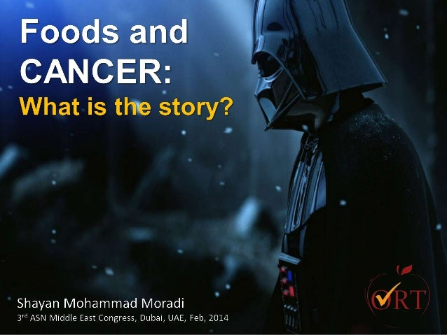 Food and Cancer: What is the story?
