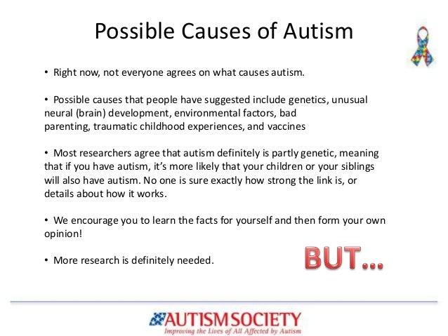 Searching for the Cause of Autism