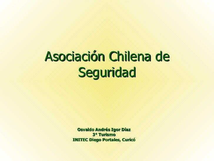 Asociación Chilena de Seguridad