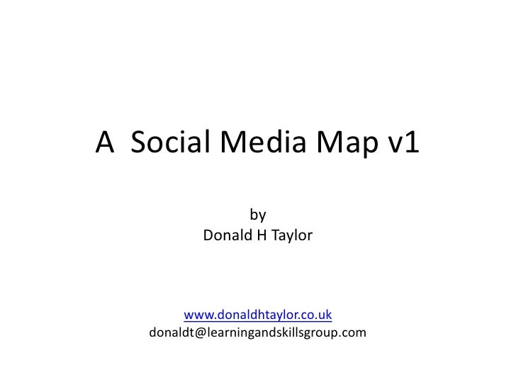 What is social media? A social media map to make sense of blogs, wikis, twitter, and social networking
