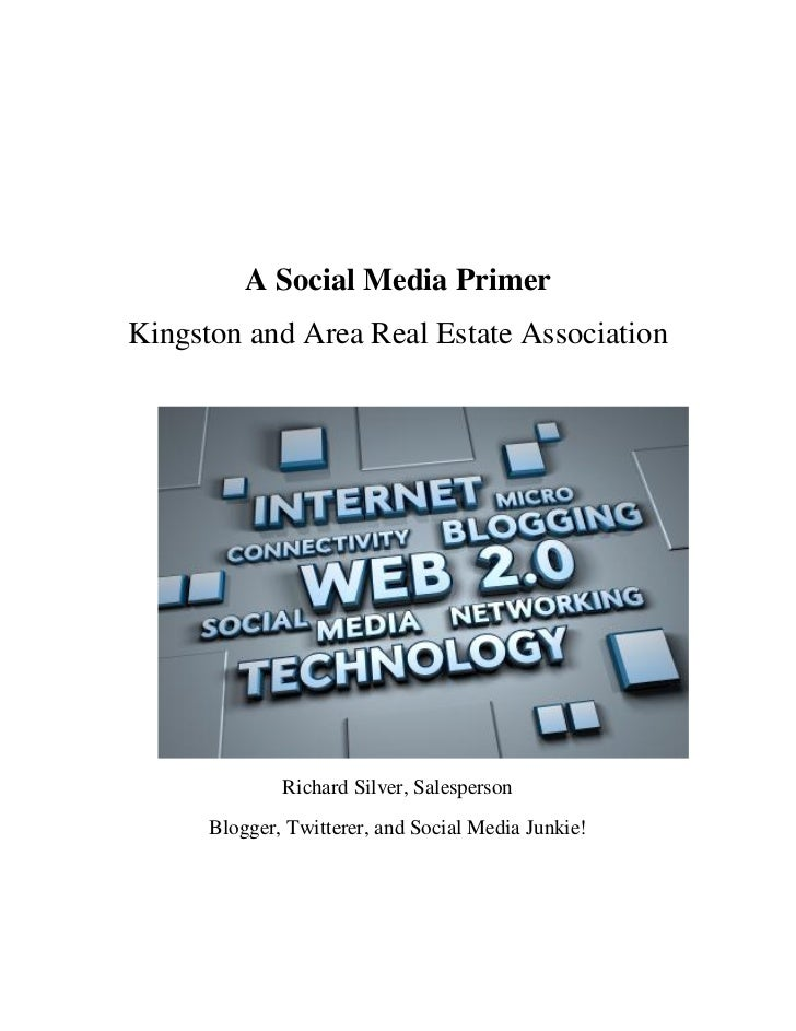 A social media primer workbook september, 2010