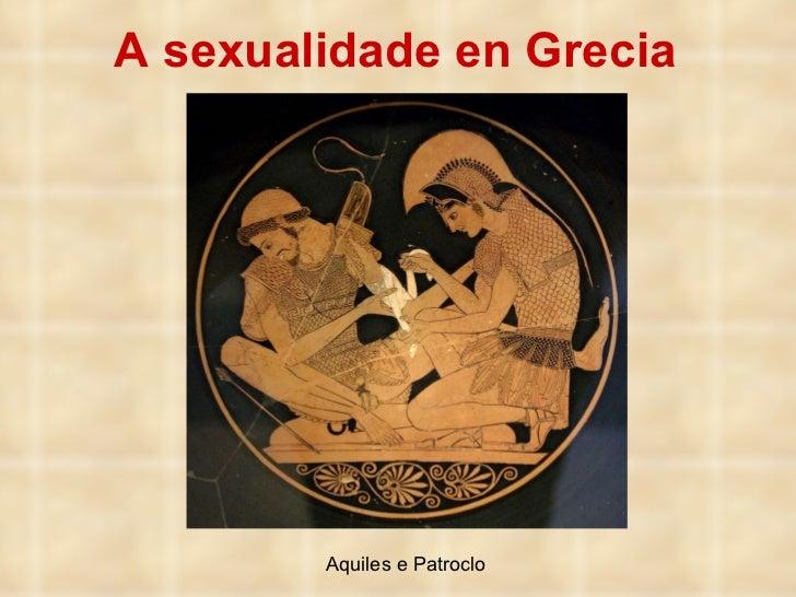 A sexualidade en Grecia Aquiles e Patroclo