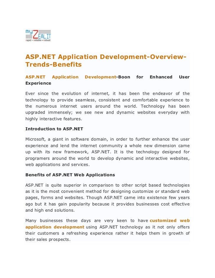 ASP.NET Application Development