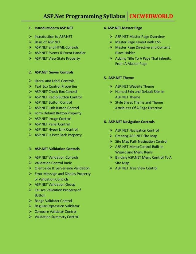 Asp.net Training in Pune/net course in pune/net class in pune  CNC WEB WORLD