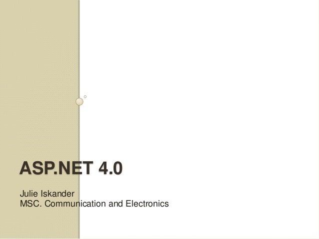 ASP.NET Lecture 5