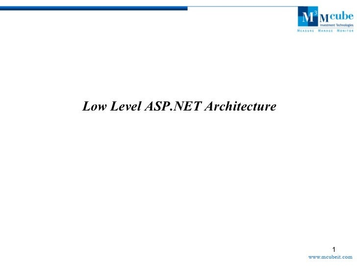Asp.net internal architecture