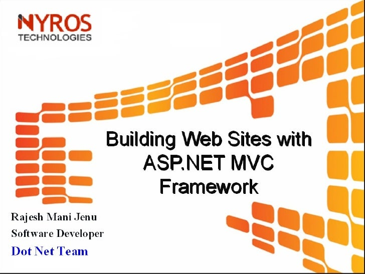 MVC Architecture in ASP.Net By Nyros Developer