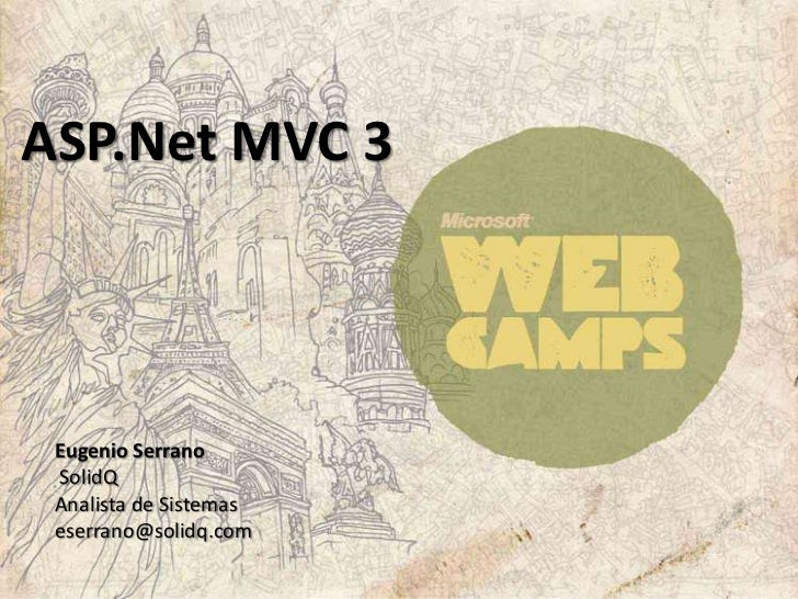 ASP.Net MVC 3 - Eugenio Serrano