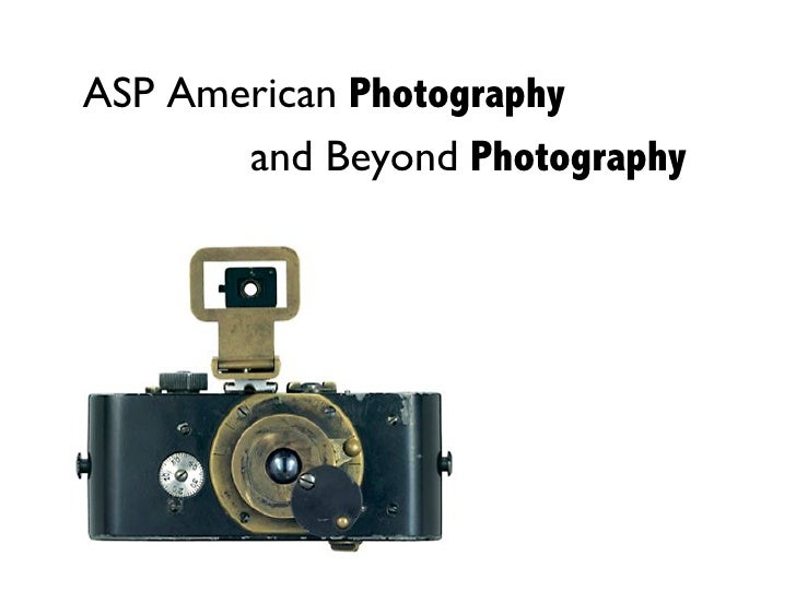 ASP American Photography        and Beyond Photography