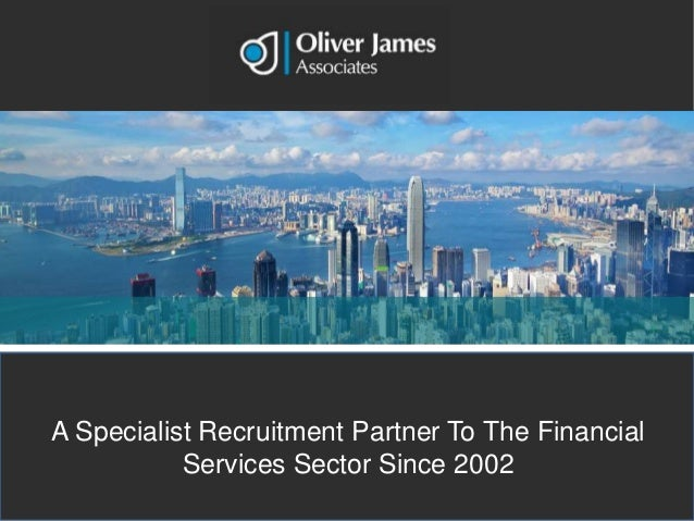 A specialist recruitment partner to the financial services sector since 2002