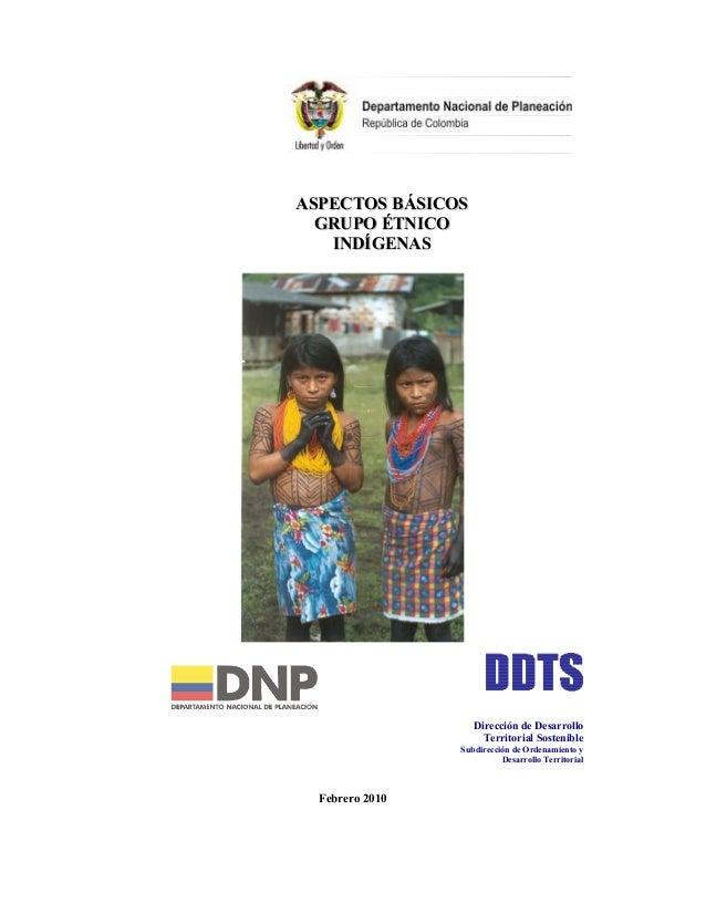 Aspectos basicos   indígenas