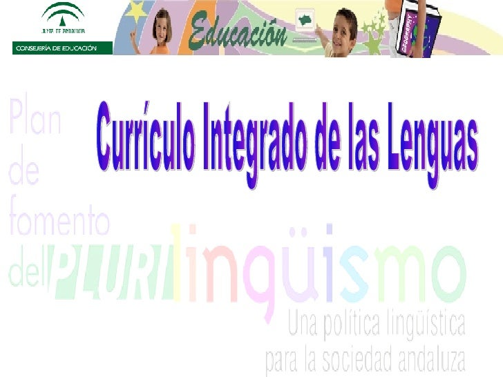 Currículo Integrado de las Lenguas