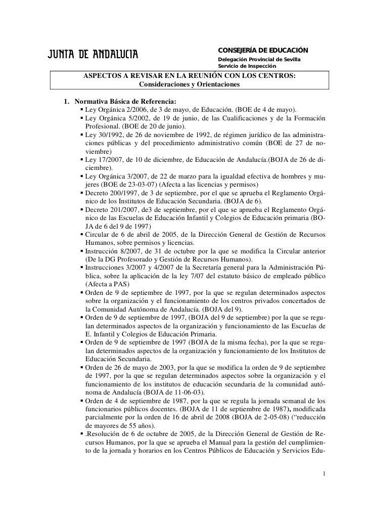 CONSEJERÍA DE EDUCACIÓN                                                    Delegación Provincial de Sevilla               ...