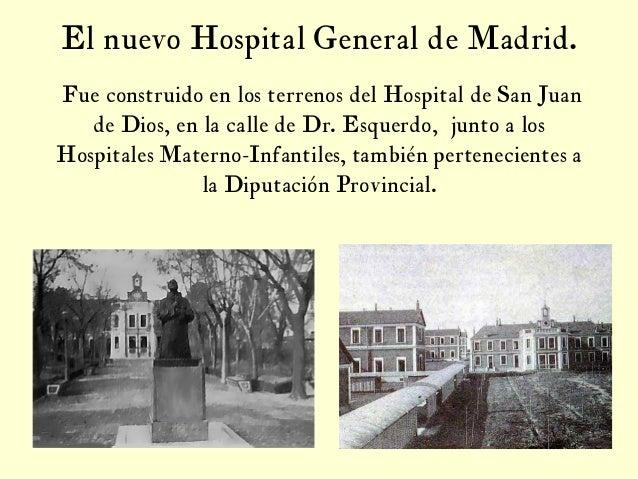 Aspectos hist ricos del hospital general de madrid 2 edici n for Hospital de dia madrid
