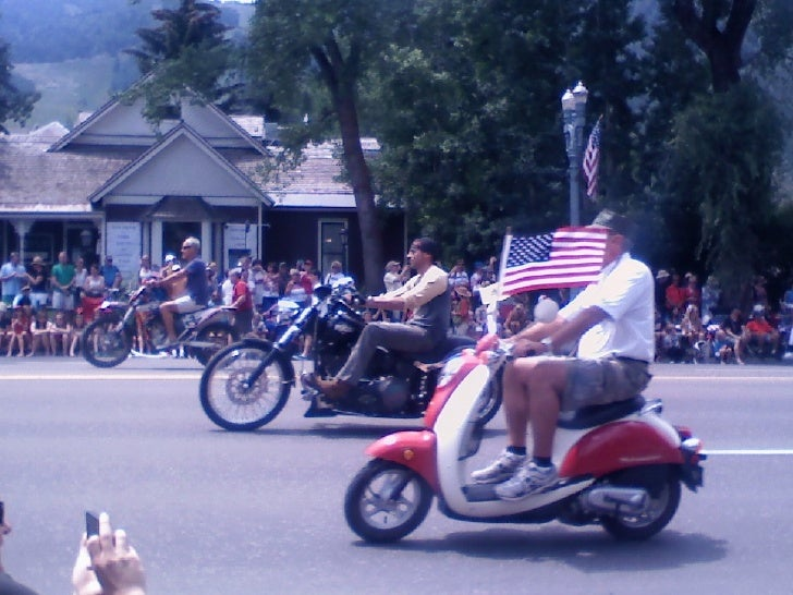 Aspen, colorado 4th of july parade 2012