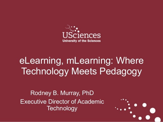 ASPET 2014: eLearning, mLearning: Where Technology Meets Pedagogy