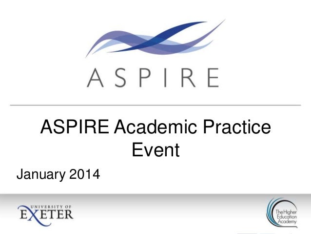 The Flipped Classroom - ASPIRE EVENT