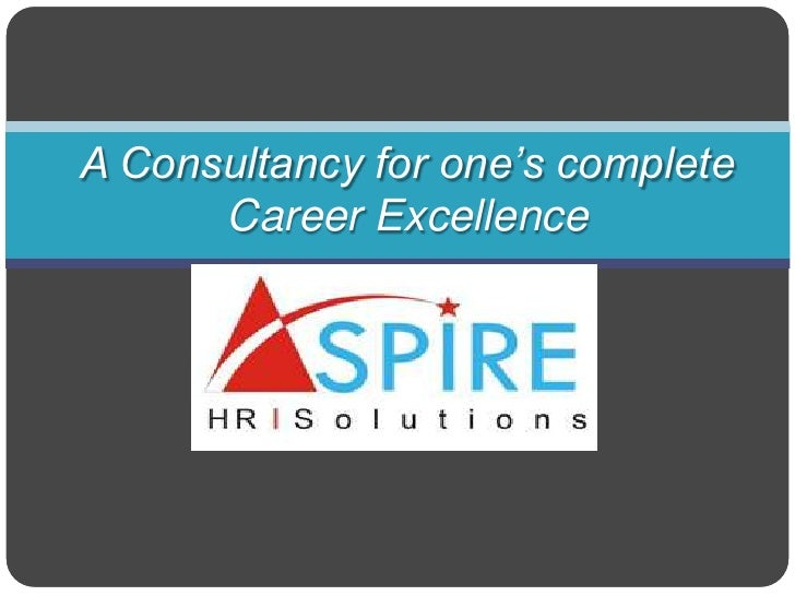 A Consultancy for one's complete Career Excellence<br />