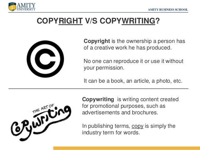 Commercial copywriting