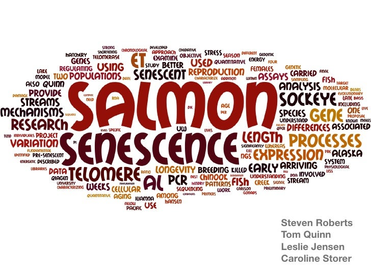 Salmon Senescence
