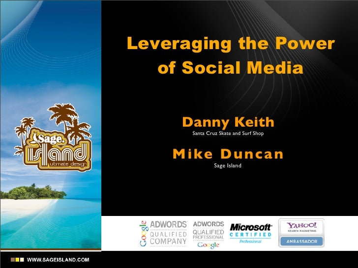 ASR August 14, 1020 - Leveraging the Power of Social Media